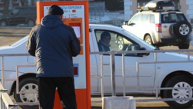 В Барнауле средний чек клиентов первой платной парковки составил 50 рублей.