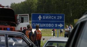 Место гибели Михаила Евдокимова.