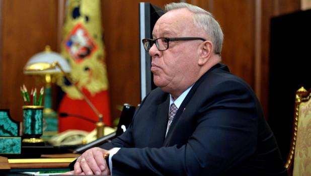 Глава Республики Алтай Александр Бердников.