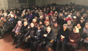 Собрание жителей Малинового озера