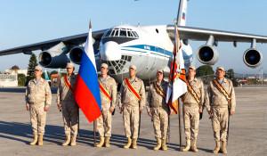 Путин посетил российскую авиабазу в Сирии.