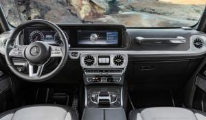 Интерьер нового автомобиля Gelandewagen.