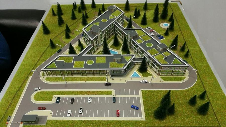 Проект нового медцентра в Барнауле.