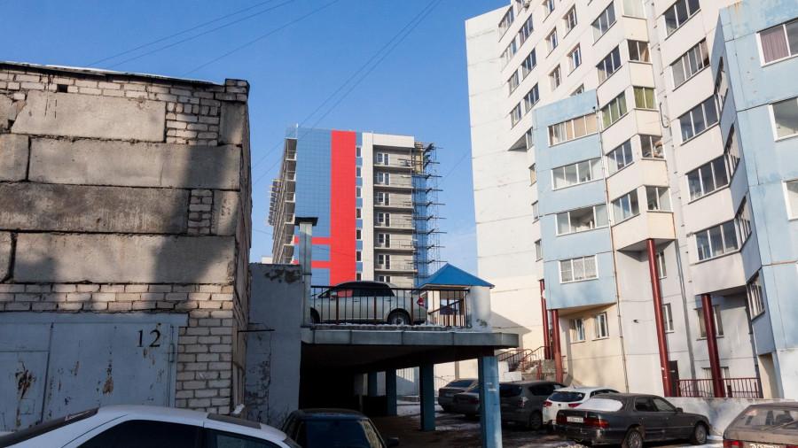 Новостройки в частном секторе в Барнауле.