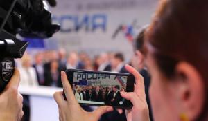 Владимир Путин на форуме ОНФ.