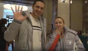 Максим Траньков и Татьяна Волосожар в одном из вариантов нейтральной формы.