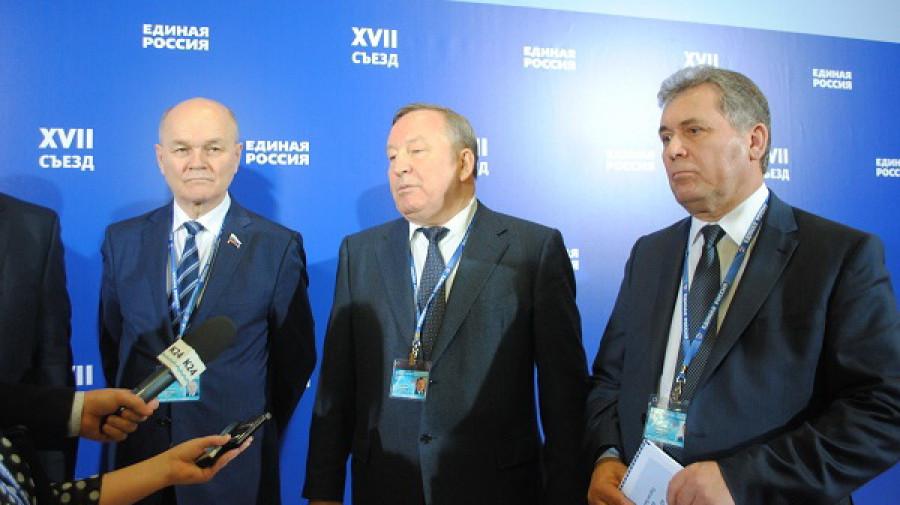 Михаил Щетинин, Александр Карлин и Александр Романенко.