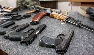 Оружие, спецназ алтайского УФСИН.