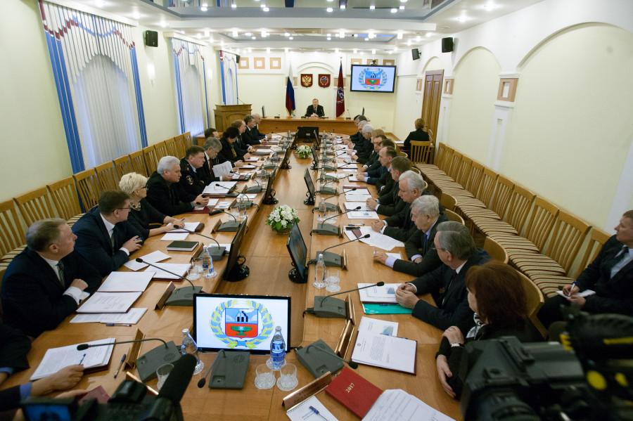 Заседание правительства.