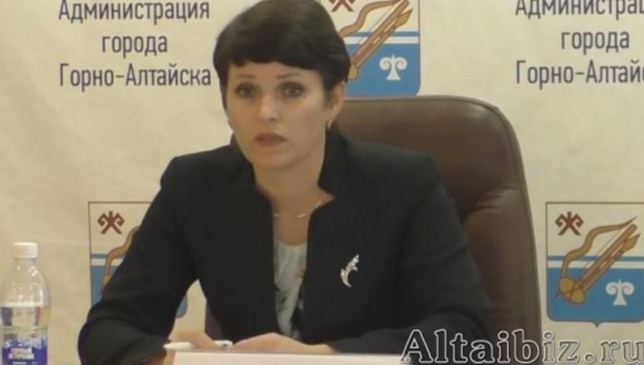 Ольга Сафронова.