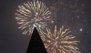 Как в Барнауле открыли главную новогоднюю площадку.