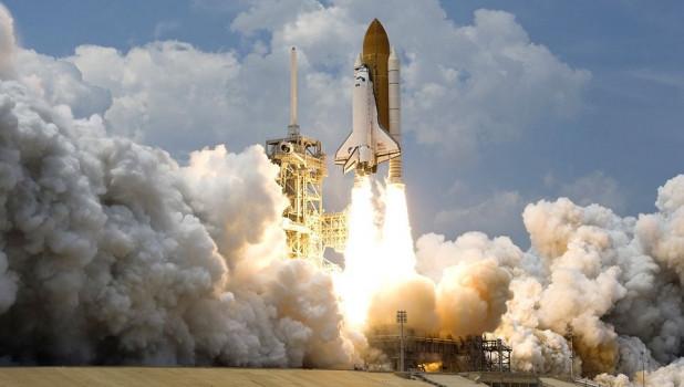 Запуск ракеты.
