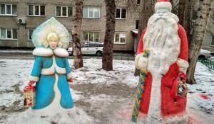 В Барнауле выбирают лучший зимний двор.