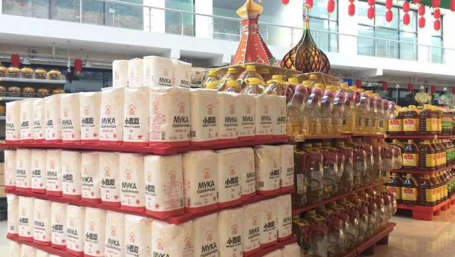 Алтайская мука продается в китайских магазинах