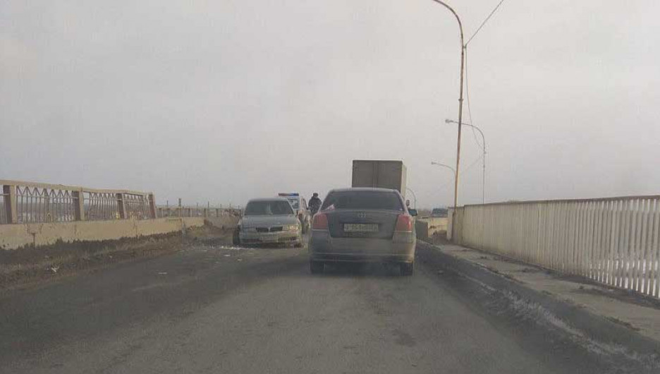 ДТП на Старом мосту.
