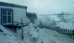 В селе Вишнёвка Рубцовского района у пенсионерки сгрел дом.