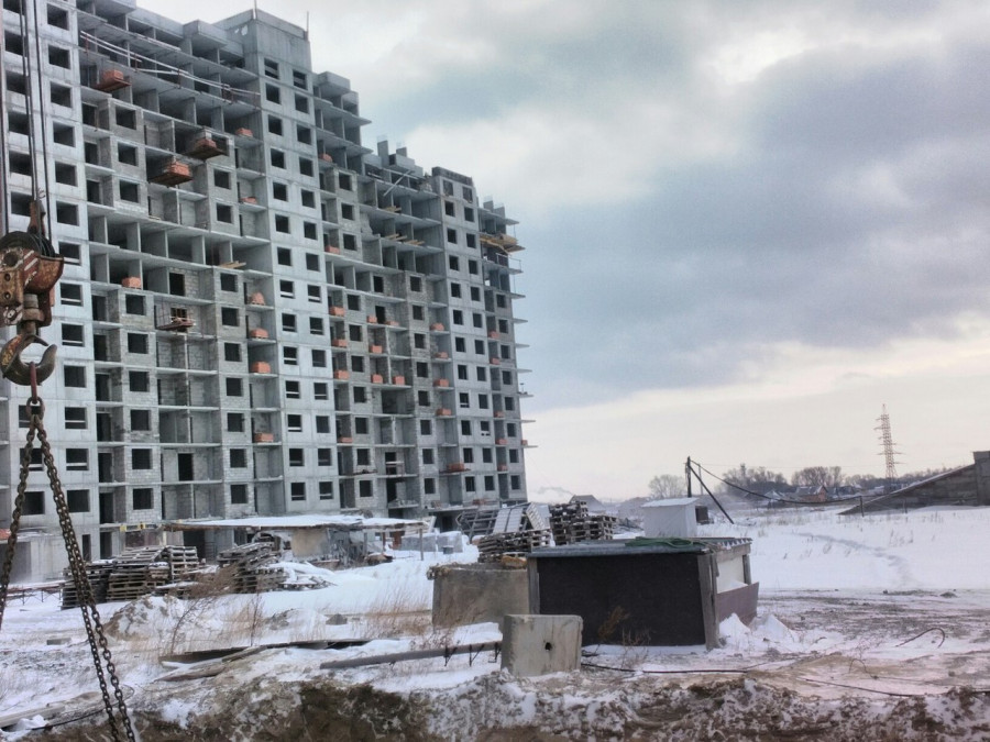 """ЖК """"Демидов-парк"""". Январь 2017 года."""