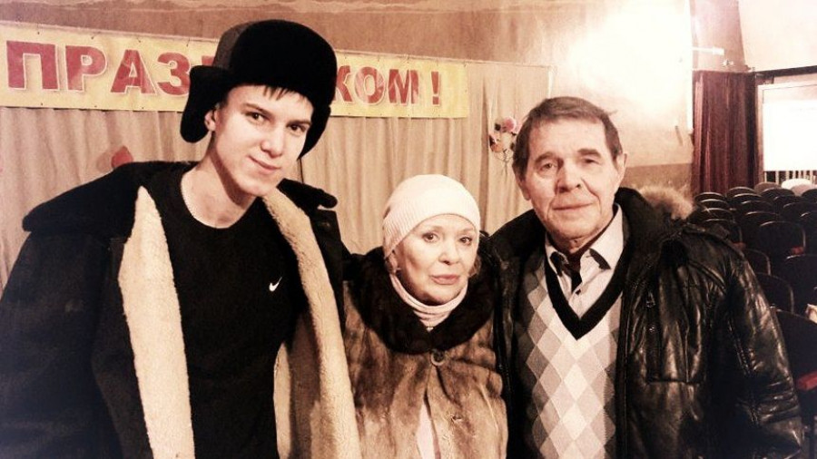 Владислав Нимак, Галина Польских и Алексей Булдаков.
