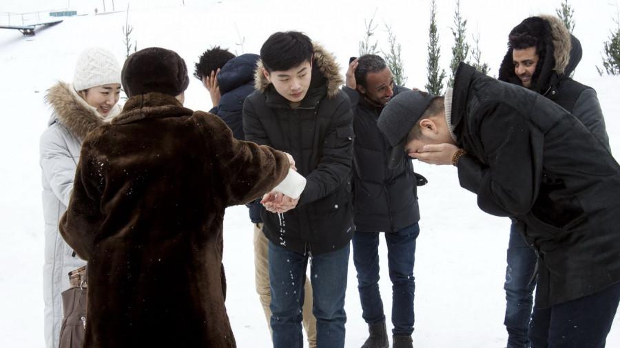 Крещение в Барнауле.