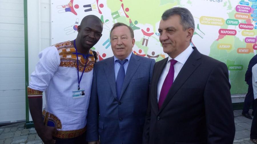 Абубакар Силла и Александр Карлин