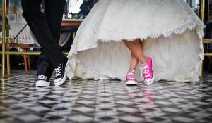 Пара. Свадьба.