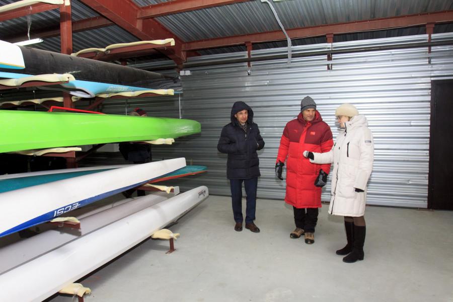 Руководство международной федерации каноэ посетило Барнаул.