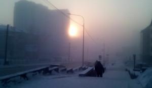 Смог в Барнауле.
