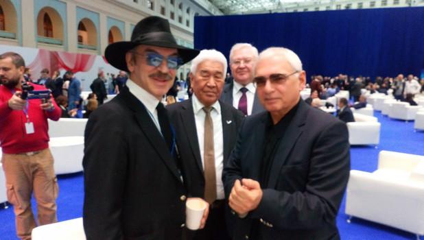 Михаил Боярский, Борис Алушкин, Владимир Климов и Карен Шахназаров.