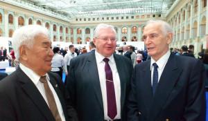 Борис Алушкин, Владимир Климов и Василий Лановой.