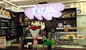 Сеть мини-кофеен Sova coffee.