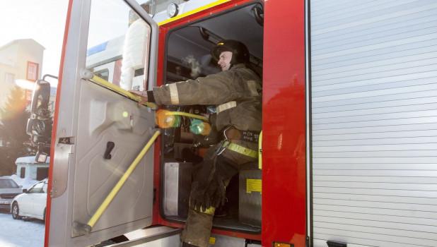 Один день в пожарной части.