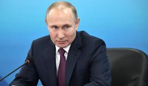 Владимир Путин в Красноярске, 7 февраля 2018