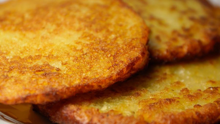 Картофельный блин.