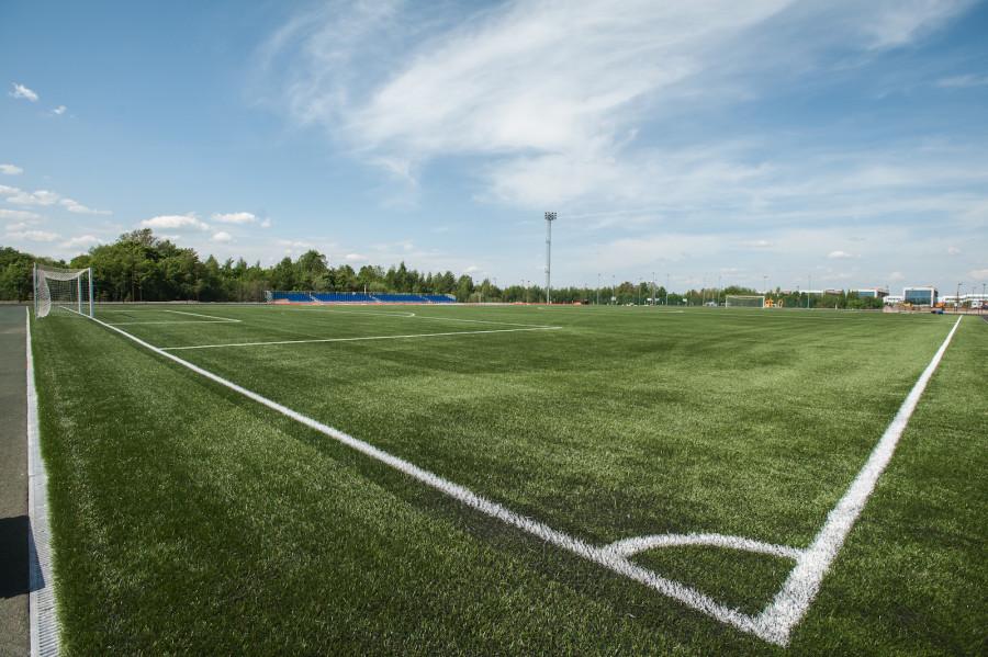 Футбольное поле в Иннополисе.