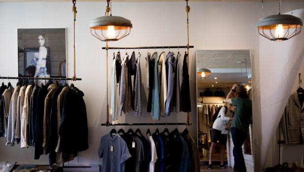 Мода. Одежда. Магазин.