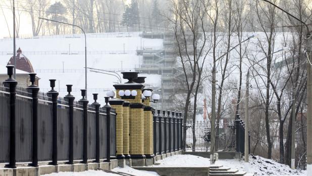 """Нагорный парк. Кластер """"Барнаул - горнозаводской город""""."""