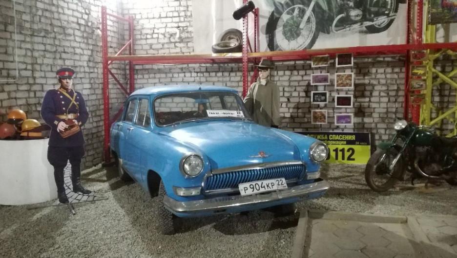 В музее у Валентины Гридиной