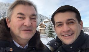 Александр Прокопьев и Владислав Третьяк.