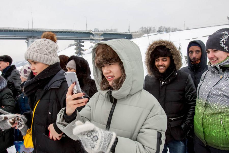 Иностранные студенты в Барнауле.