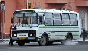 Автобус 37-го маршрута в Барнауле