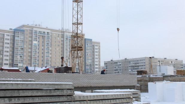 Строительство школы в квартале 2008