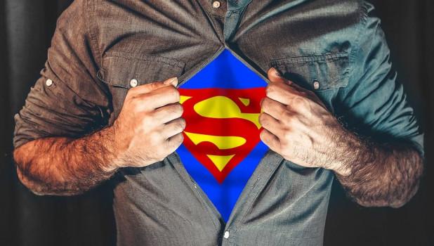 Супергерой. Мужчина.