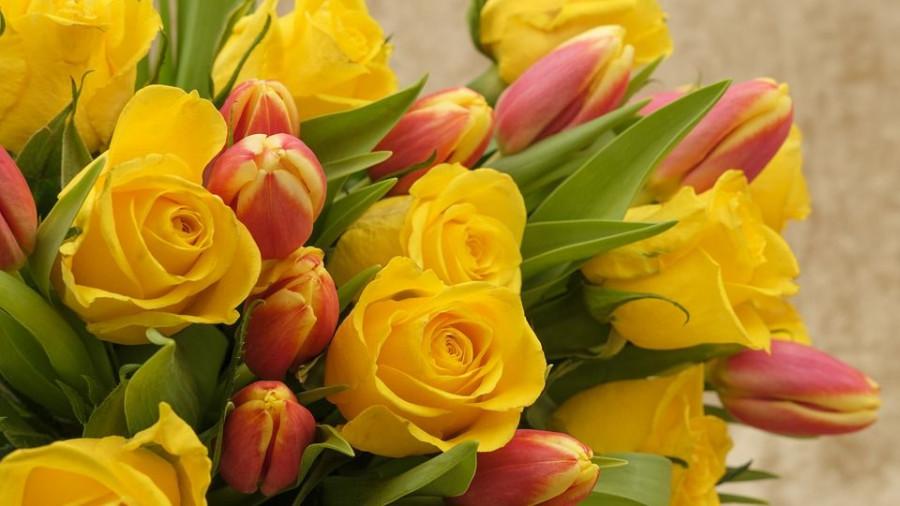 Цветы. 8 марта.