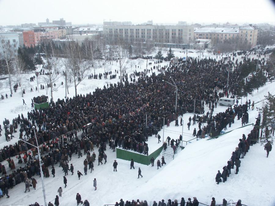 Похороны Владимира Баварина.