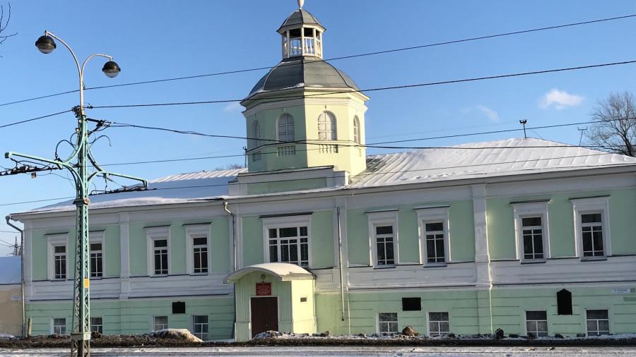 Барнаул, ул. Ползунова, 41. Здесь располагалась канцелярия Колывано-Воскресенского горного начальства.