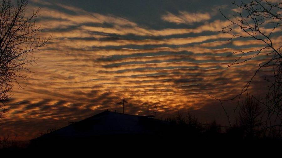 Небо в Барнауле.