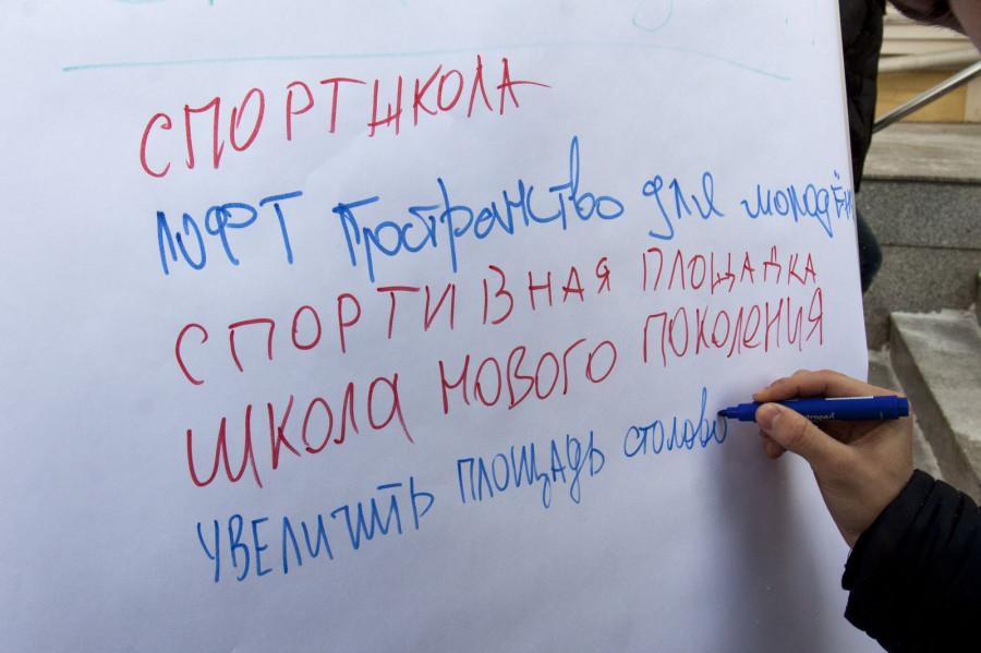 Барнаульцы рассказали ведущему Первого канала Валерию Фадееву #чтонужно сделать в городе. 2 марта 2018 года.