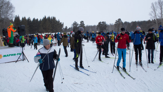 Алтайский лыжный марафон в с. Черемное