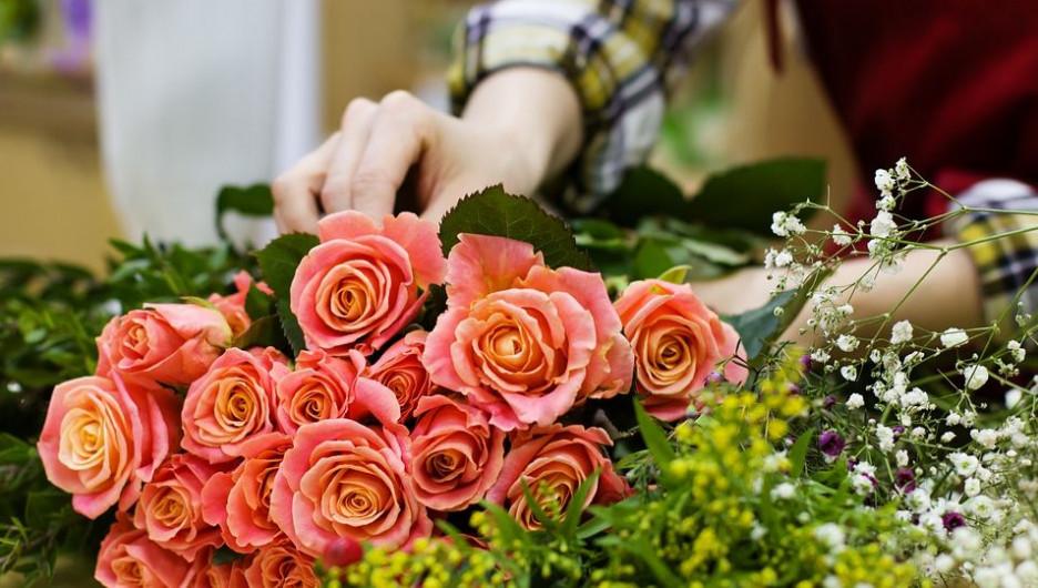 Букет. Цветы. Флорист.