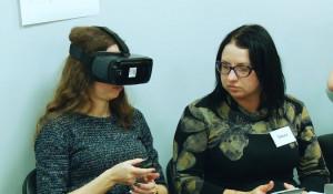 Виртуальная реальность на тренинге по продажам.